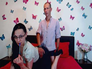 At ImLive People Call Us OhNaughtyCouple! We Are 25 Years Of Age And A Live Chat Delicious Duo Is What We Are